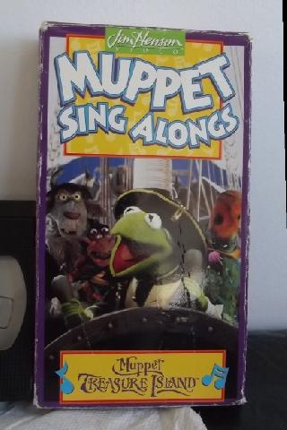 Muppet Treasure Island Sing Along Songs Vhs